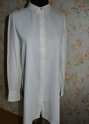 Рубашка довга з розрізами