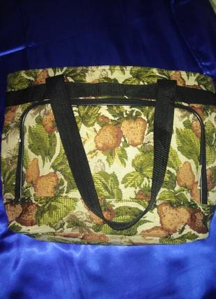 Тканевая сумка- ручная кладь bovona u.s.a.
