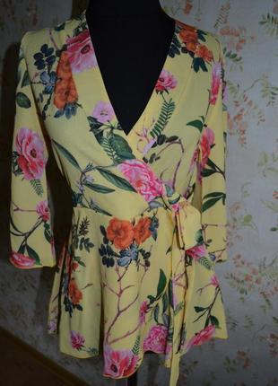Блуза з креп шифону