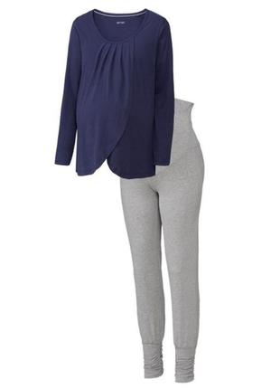 Пижама для беременных белье для сна esmara германия (s,l)