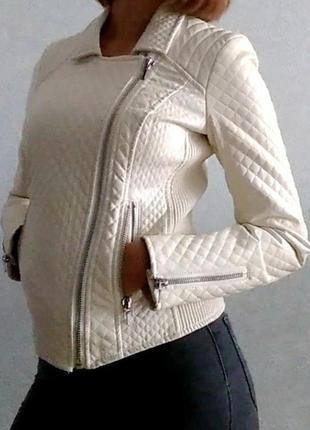 Куртка из искусственной кожи (кожзам)
