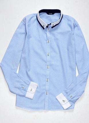 George. стильная нарядная рубашка для модника 12-13 лет, 152-158 см рост