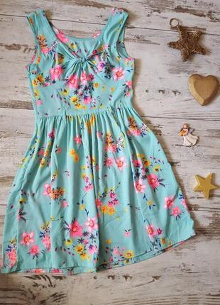 Яркое нежное легкое платье4 фото