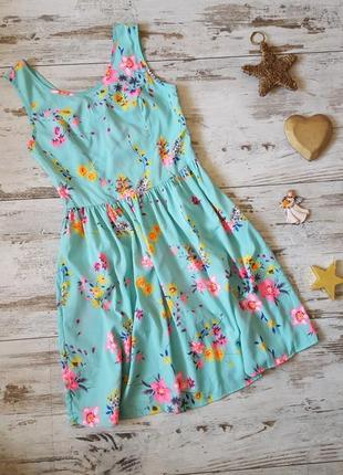 Яркое нежное легкое платье1 фото