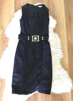Чёрное шикарное платье