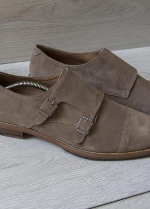 Крутые замшевые туфли от фирмы h&m