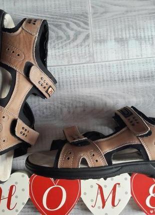 Кожаные сандали adventure.