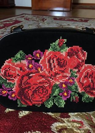 Сумка с вышивкой сумка з вишивкою