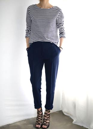 Актуальные брюки от promod синего цвета