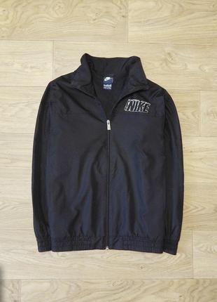 Куртка ветровка nike 12-13 лет 158 см. идеальное состояние. олимпийка, найк, оригинал