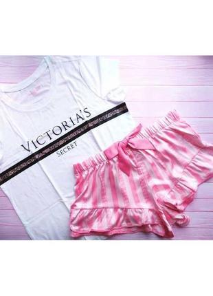 Пижама комплект для дома виктория сикрет victoria's secret, оригинал!