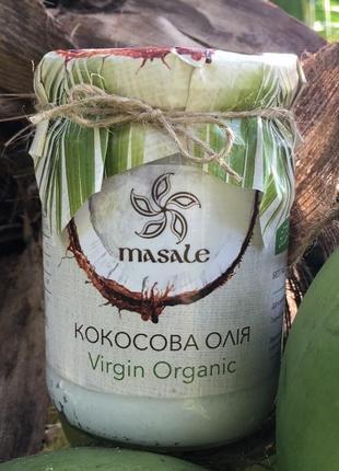 Кокосовое масло organic virgin (сыродавленное) 500 мл (шли-ланка)
