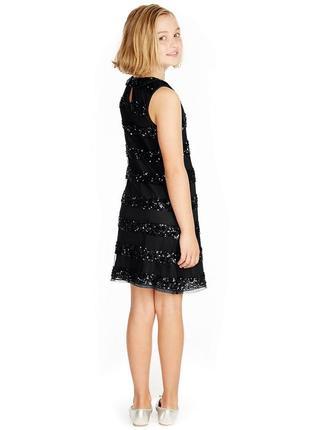 Нарядное платье  на 11-12 лет, marks & spencer2 фото