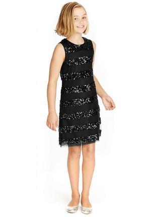 Нарядное платье  на 11-12 лет, marks & spencer