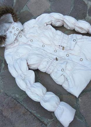 Куртка пуховая maddison на 10-12 лет