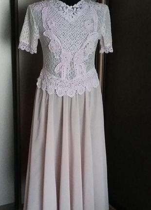 Ретро винтаж платье