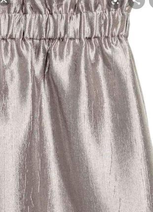 Серебристая юбка от h&m2 фото