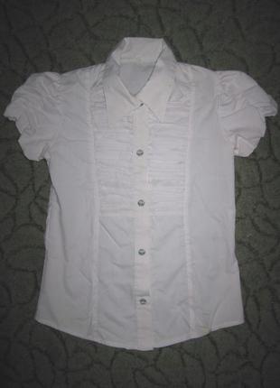 Школьная блузочка на девочку