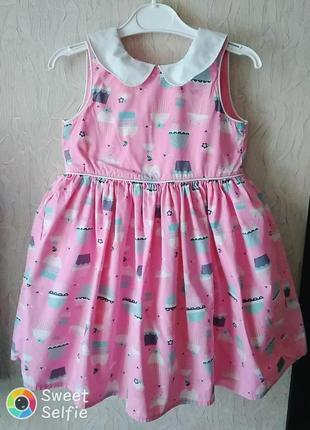 Нарядное платье tu для девочки