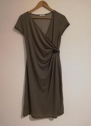 Стильне трикотажне плаття