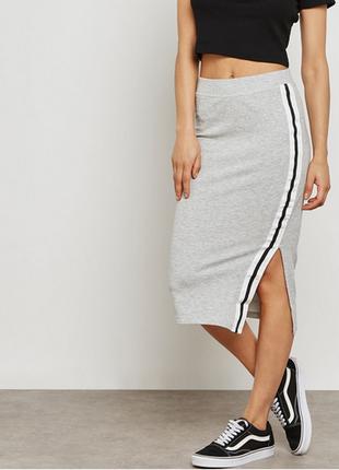 Бесплатная доставка!узкая юбка с завышенной талией jacqueline de yong, размер 44 - 46