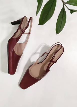 ❤️шикарные кожаные туфли