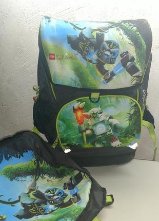 Lego школьный рюкзак