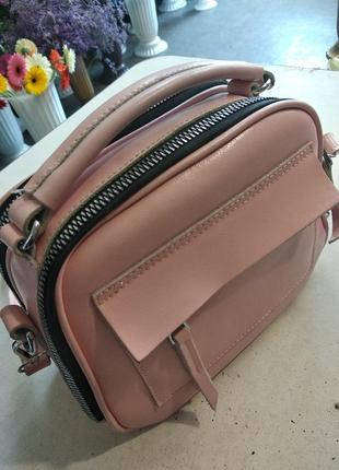 Сумка-чемоданчик кожа