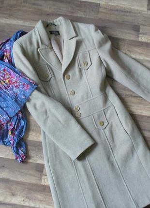 Элегантное теплое осеннее пальто