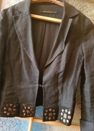 Льняной пиджак, sultana frantsuzova