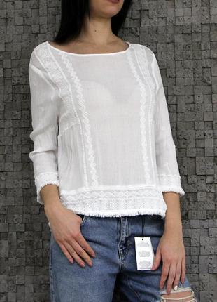 Красивая блуза из натуральной ткани