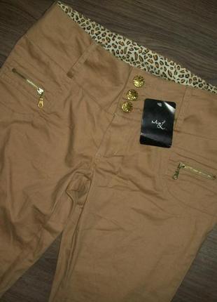 Новые стильные брюки размер 10/34 missguided