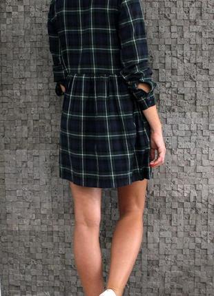Красивое и стильное платье из натуральной ткани с вышивкой3 фото