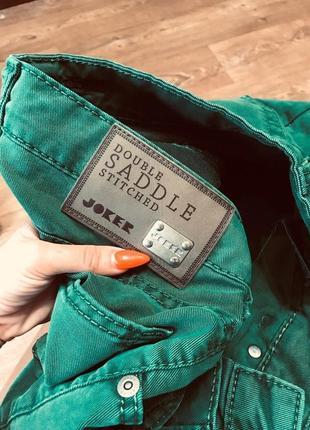 Шикарные джинсы с высокой посадкой бойфренды  joker  класса люкс италия