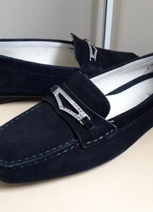 38 39 р. geox замшевые оригинальные туфли мокасины лоферы