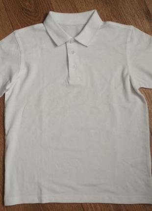 Новая футболка поло george на 9-10 лет, рост 135-140