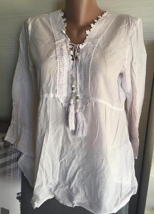 Рубашка вышиванка rosa bud