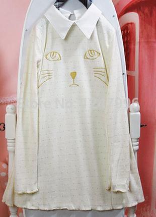 Дешево! платье котик милое