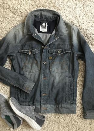 Джинсовый пиджак куртка g-star raw унисекс!