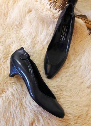 Кожаные туфли- лодочки #stuart weitzman #оригинал