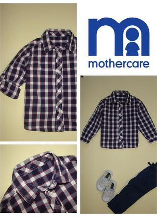 Рубашка с длинным рукавом mothercare 2-3 года