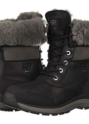 Зимние кожаные ботинки ugg р. 43
