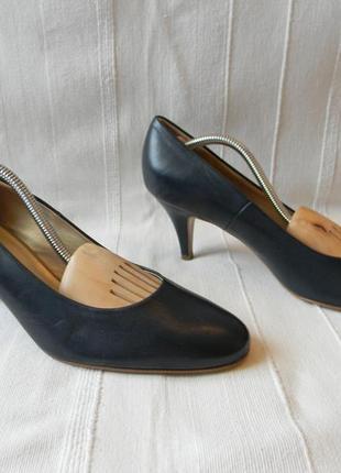 Peter kaiser-синие туфли лодочки р.8 (42) 28 см