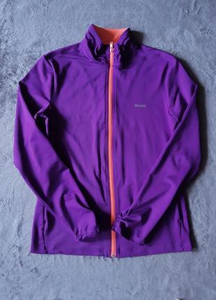 Женская спортивная кофта без капюшона reebok