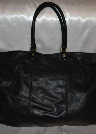 Большая кожаная сумка liebeskind berlin, оригинал