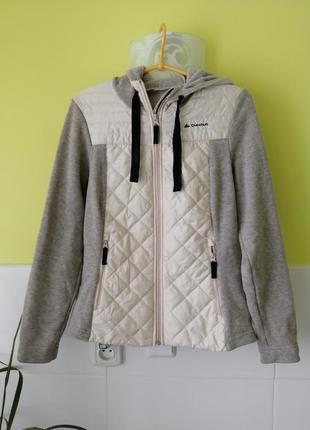 Толстовка  куртка с капюшоном quechua