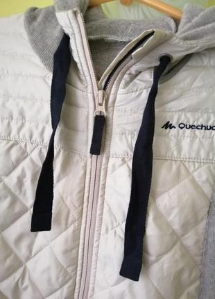 Толстовка  куртка с капюшоном quechua3 фото