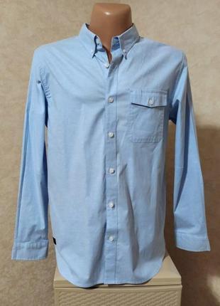 Премиум класс, необычная кежуал рубашка из плотного хлопка, m-l, oakley