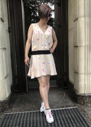 Платье принт &otherstories 38, 40 размеры