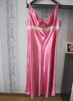 Голое ночное дневное платье соблазнительная комбинация роскошной леди батал 18-20 xхххл